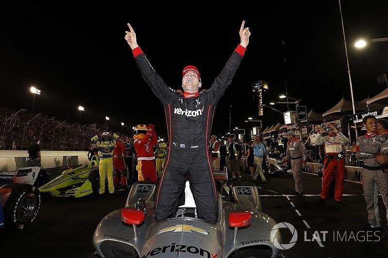 ゲートウェイ決勝:パワー今季3勝目。ロッシ必死の燃費走行で2位、佐藤9位