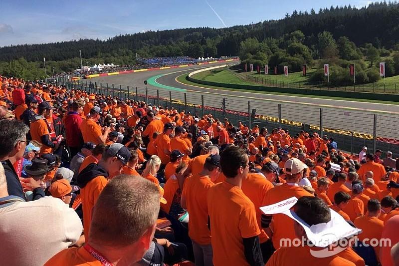 Orange Festspiele für F1-Fans mit Motorsport Experiences