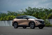 Elektryczny crossover coupe Nissana
