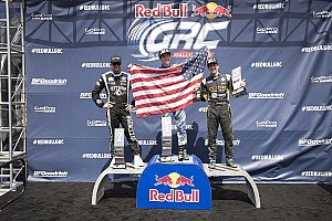 Global Rallycross Race report Scott Speed Posts Perfect Weekend at Red Bull Global Rallycross Washington DC