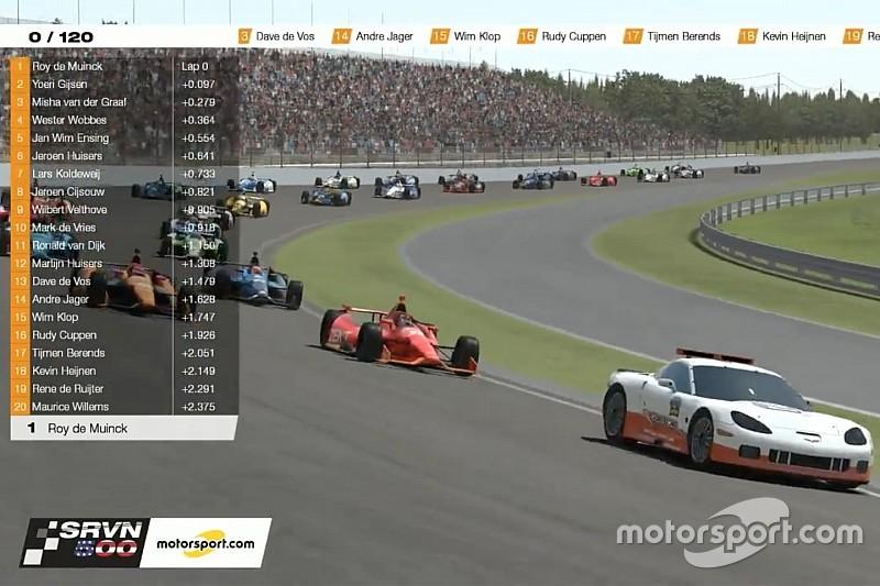 Kijk terug: Indy 500-simrace