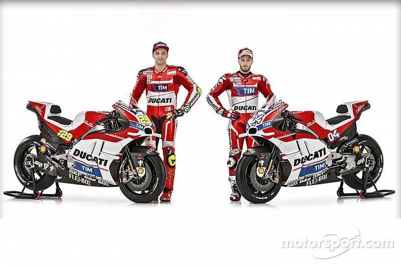 Ducati представила мотоцикл 2016 года