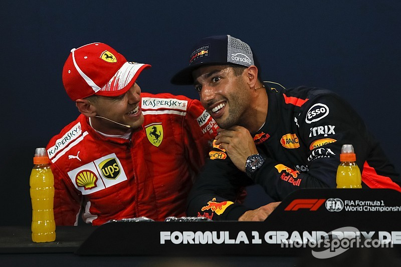 Vettel admet la supériorité de Ricciardo à Monaco
