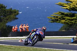 MotoGP Réactions Viñales optimiste malgré une chute