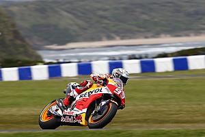 Гран Прі Австралії: Маркес виграв третю вологу практику
