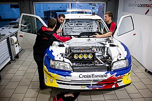 Other rally Special feature Loeb's race against time to rebuild the Peugeot 306 Maxi