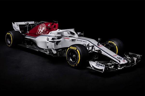 Формула 1 Важливі новини Alfa Romeo Sauber представила болід Ф1-2018
