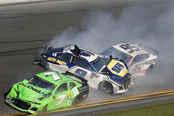 NASCAR Cup Breaking news Daytona 500: Danica Patrick's final NASCAR race comes to an abrupt end