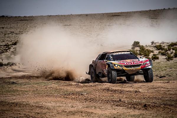 Dakar Stage report Dakar 2018, Stage 10: Peterhansel wins, passes Al-Attiyah