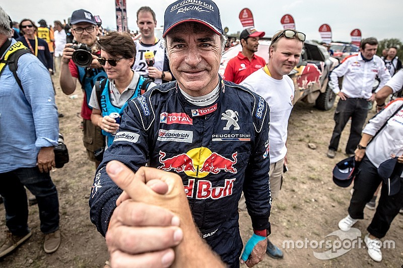 "Sainz says son got ""revenge"" after 2018 Dakar victory"