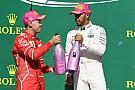 Formula 1 Hamilton, Vettel'in sert savunma yapmamasına şaşırmış