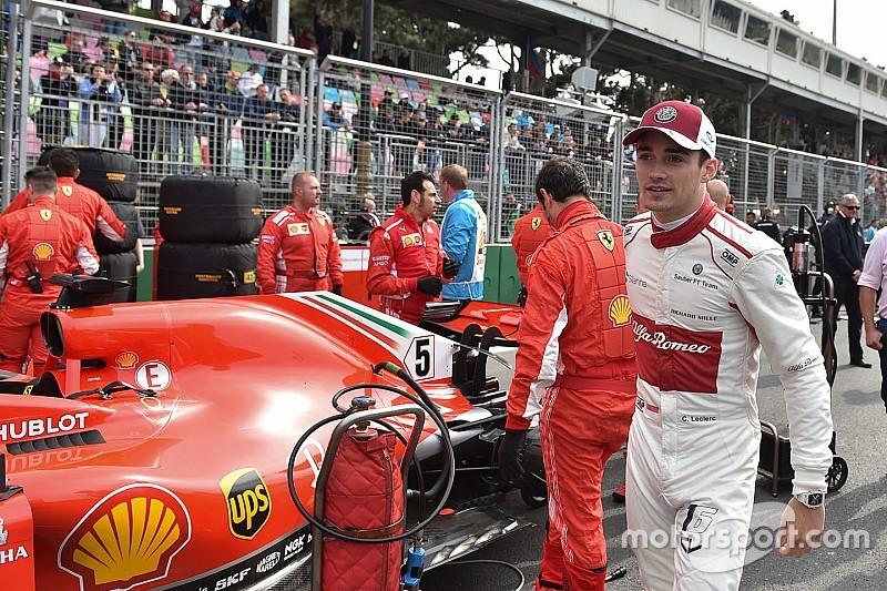 Cetak poin perdana, Leclerc dapat ucapan selamat dari Ferrari