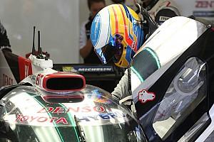 丰田:阿隆索没有追求单圈时间