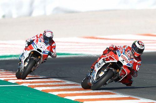 Lorenzo: Ignoring team orders was best for Dovizioso