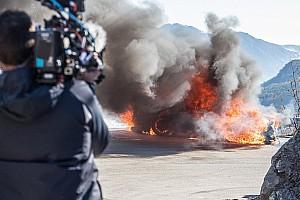 Auto Actualités Une Alpine A110 prend feu sur le tournage de Top Gear