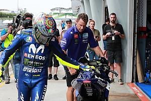 MotoGP Ultime notizie La Yamaha ammette che Rossi ha più peso di Vinales nello sviluppo