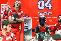 Malestar en Ducati por las palabras de Dovizioso en los medios