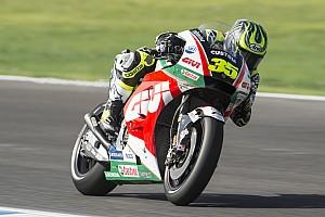 MotoGP Practice report FP2 MotoGP Spanyol: Crutchlow tercepat, Marquez terjatuh