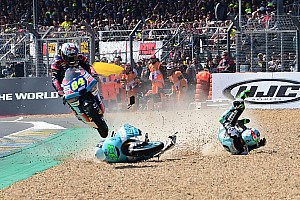 Moto3 Breaking news Kornfeil treated epic Moto3 save