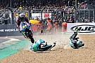 Moto3 Kornfeil come Cairoli a Le Mans: fa un salto da motocross con la Moto3!