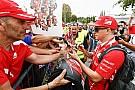 Érkeznek az F1-es pilóták Monzában: képek