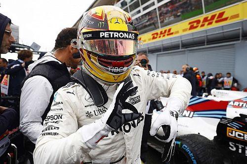 Hamilton, 69 pole pozisyonu ile Michael Schumacher'in rekorunu kırdı!