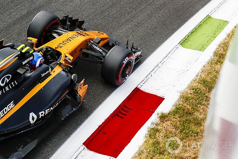 """Renault : Un déficit de rythme """"évident"""" pour Palmer"""
