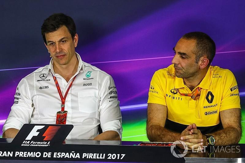 Formel-1-Motoren 2021: Erster Widerstand unter den Herstellern