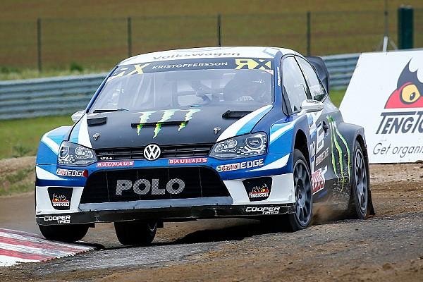 World Rallycross Belgium WRX: Kristoffersson leads overnight, Ekstrom only seventh