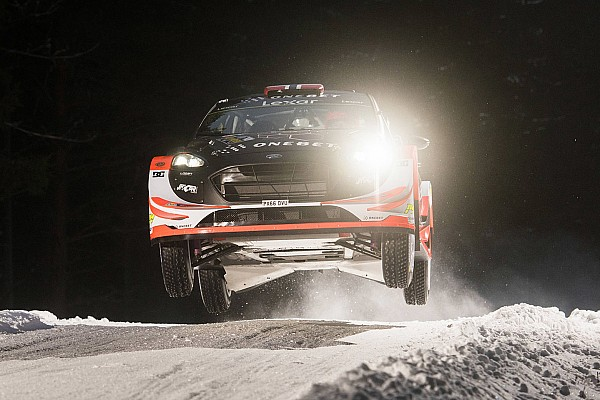 Ostberg tops Rally Sweden shakedown on WRC comeback