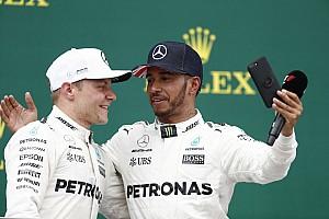 L'entente Hamilton-Bottas a dépassé les attentes de Mercedes