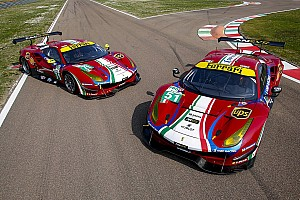 WEC Breaking news Ferrari beri sentuhan warna 1947 pada mobil 488 GTE 2017