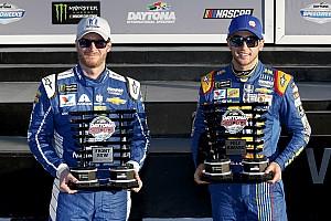 NASCAR Cup Отчет о квалификации Эллиотт выиграл поул «Дайтоны-500» с преимуществом в 0,002 секунды
