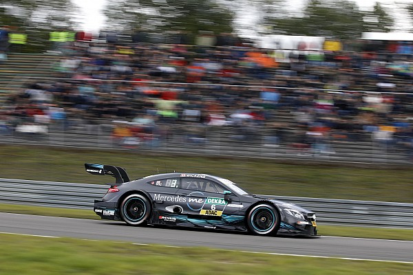 Nurburgring DTM: Wickens wins Race 2, Auer spins out