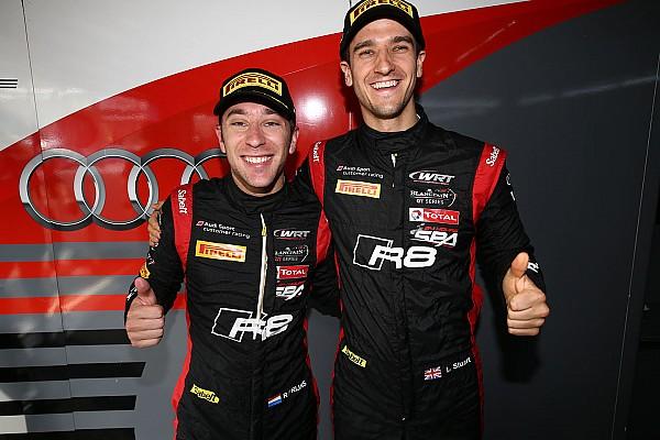 BSS Reporte de calificación El Audi RS8 LMS de Frijns y Leonard, pole de las Blancpain en Zolder