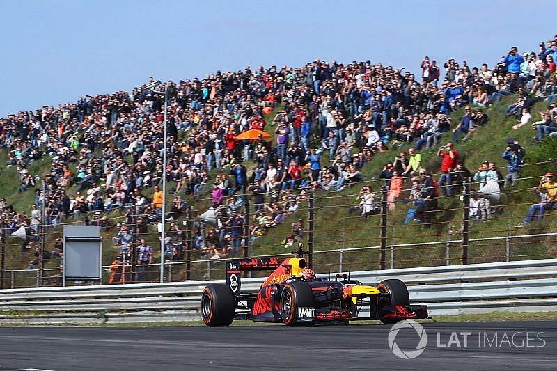 Verstappen marcó un nuevo récord en Zandvoort con un RB8