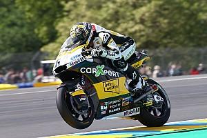 Luthi é pole na França; Morbidelli é 3° e Oliveira é 17º