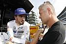 Alonso: Indy'deki şiddetli rüzgarlarda 220 mph'ye ulaşmak