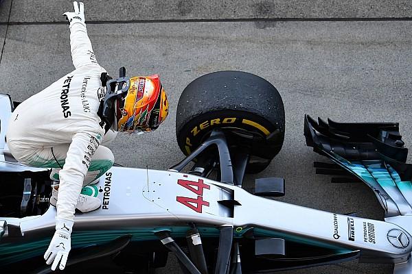 F1 Historia detrás de la foto: Hamilton bendecido con las vibras en Suzuka