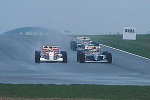 Formule 1 Diaporama Photos - Donington 1993, la leçon pluvieuse de maître Senna