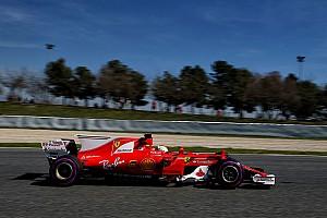 Formula 1 Testing report Barcelona F1 test: Vettel ends penultimate day on top
