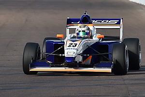 Pro Mazda Qualifying report Indy GP Pro Mazda: Franzoni takes dominant pole