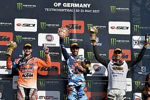 MXGP Reporte de la carrera Cairoli y Seewer se lucen en el GP de Alemania de MXGP