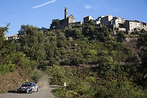 WRC Leg report Corsica WRC: Ogier completes Friday sweep, Meeke hits trouble