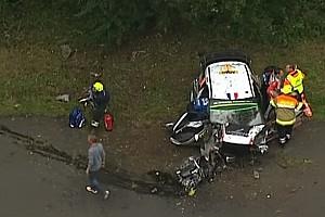 WRC News Rallye Deutschland: Lefebvre und Moreau rekonstruieren ihren Unfall