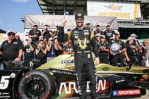 IndyCar Qualifying report Hinchcliffe takes pole for Schmidt at the 100th Indy 500