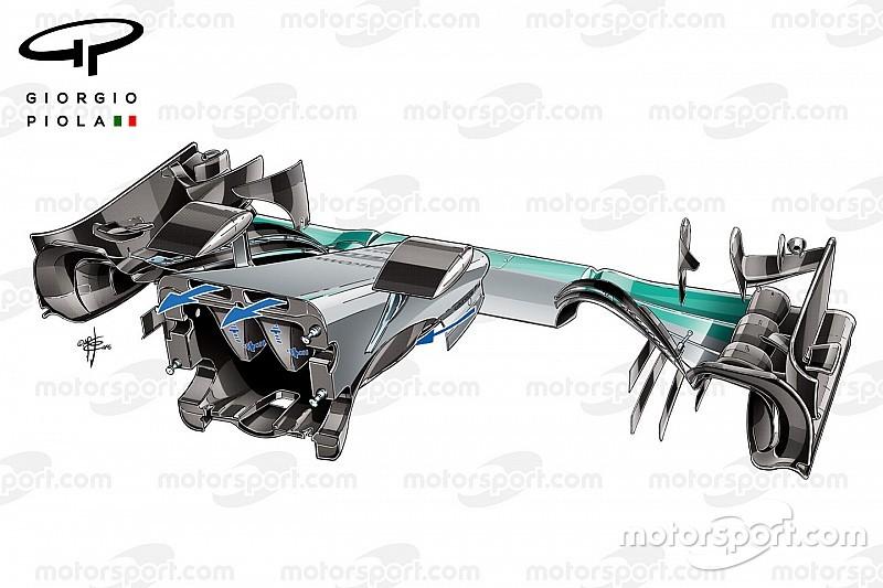 Tech analyse: Hoe werkt de interne S-duct van Mercedes precies?