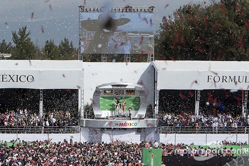 Lewis Hamilton gana en México