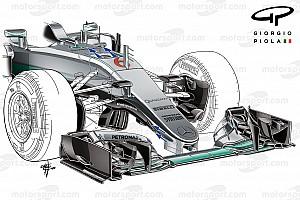 Формула 1 Аналитика Технический анализ: как в Mercedes вывели S-воздуховод на новый уровень