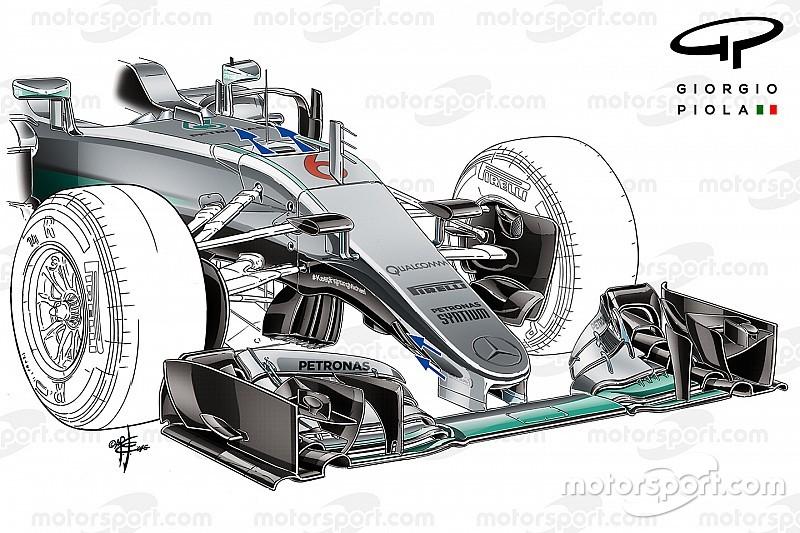 Технический анализ: как в Mercedes вывели S-воздуховод на новый уровень